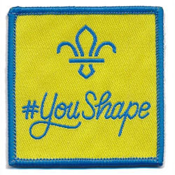 You Shape Beaver Badge