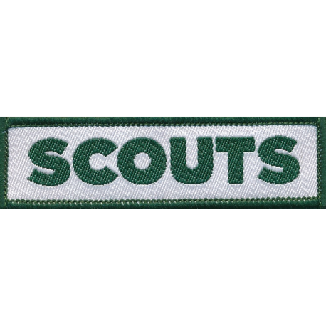 Scouts  Logo Woven Badge