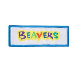 Beaver Logo Fun Badge