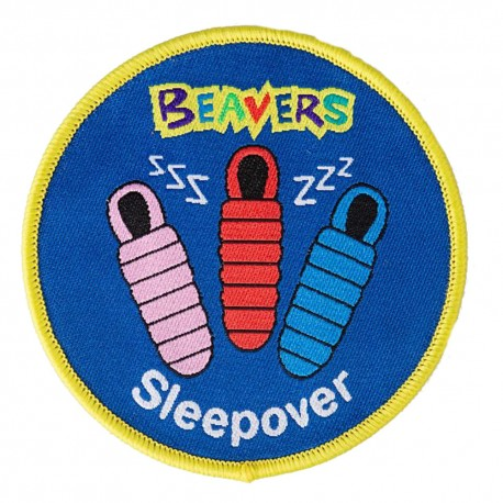 Beaver Sleepover Fun Badge