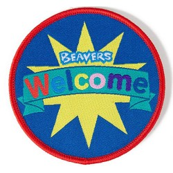 Beaver Welcome Fun Badge