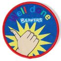 Beaver Well Done Fun Badge