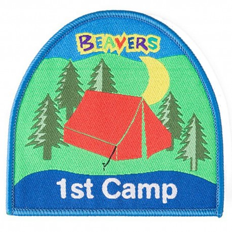 Beaver 1st Camp Fun Badge