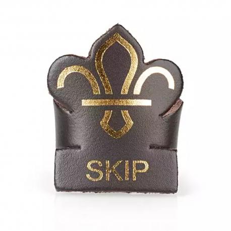Skip Leather Woggle
