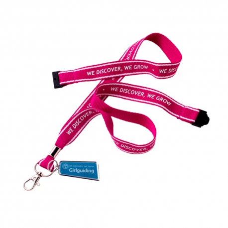 Girlguiding Lanyard - We Discover, We Grow