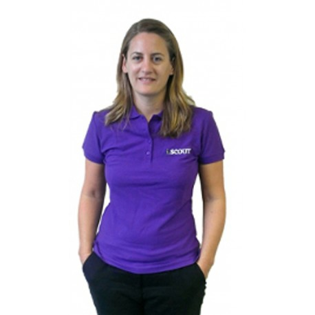 iScout Ladies Polo - Purple