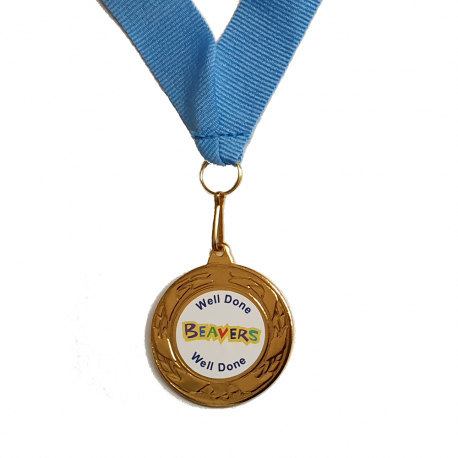 Well Done Beaver Medal