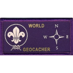 World Scout Geocacher Badge