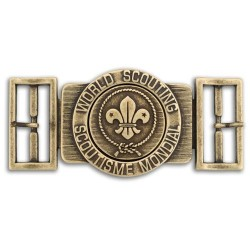 World Scout Belt Buckle