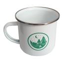 Enamel Camp Scene Mug