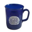 Campsite Sparkle Mug - Blue