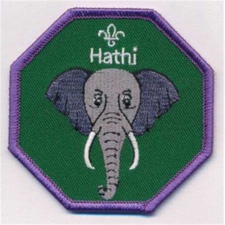 Cub Leader Fun Badge Hathi