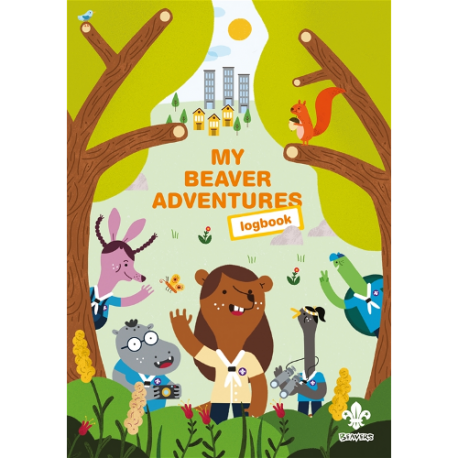 My Beaver Scouts Adventures Log book