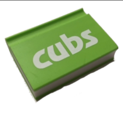 Cub Notebook Eraser