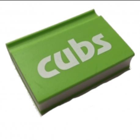 Cub Notebook Eraser