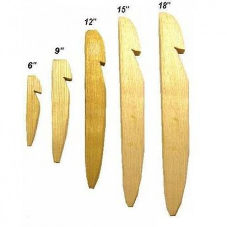 "12"" Wooden Tent Pegs 10pk"