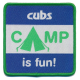 Cubs Camp is Fun Fun Badge