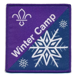 Scouting Fun Badge - Winter Camp -Available Soon