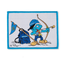 Smurf Beaver Scout Blanket Badge