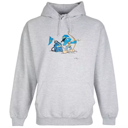 Smurf Beaver Scout Adult Hoodie
