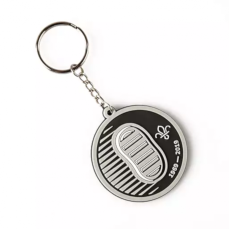 Scouts on the Moon PVC Keyring - Footprint