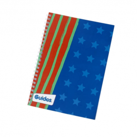 Guides A5 lined notepad