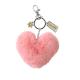Brownies heart pom-pom clip