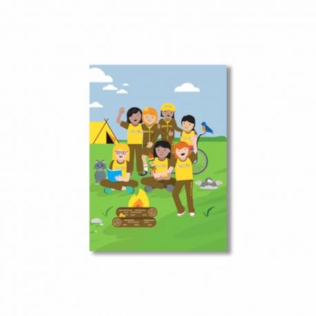 Brownies Adventure cards (6pack)