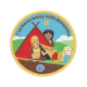 I've been away with Brownies woven badge