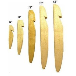 "15"" Wooden Tent Pegs 10pk"