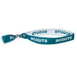 Scouts Woven Wristband - Adult