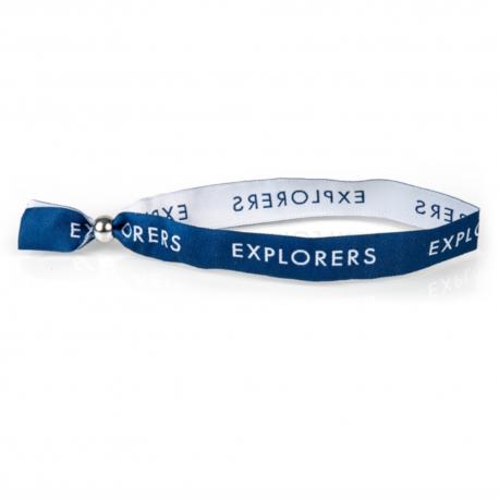 Explorers Woven Wristband