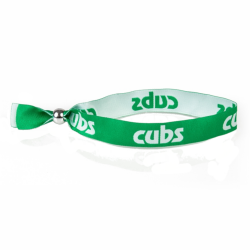 Cubs Woven Wristband - Youth