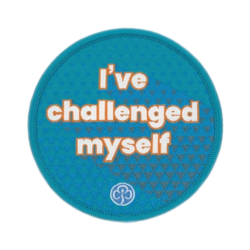 Rangers I've challenged myself woven badge