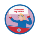 Guides I've used my voice woven badge