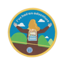 Brownies I've had an adventure woven badge