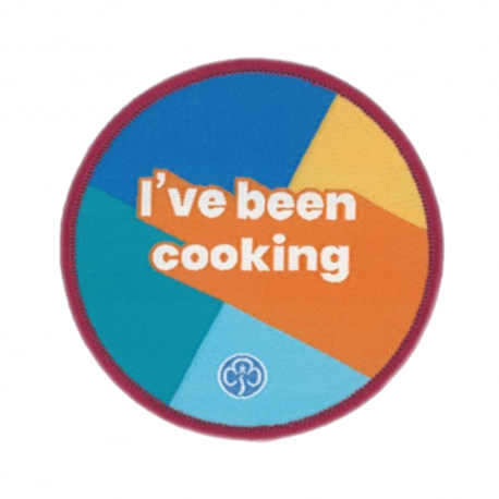 All section I've been cooking woven badge