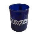 Beaver Sparkle Plastic Mug / Cup - BLUE