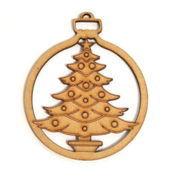 Christmas Tree Decoration - 8 Pack