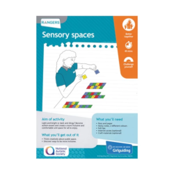 Unit meeting activity cards 6 - Rangers (Sensory Spaces)
