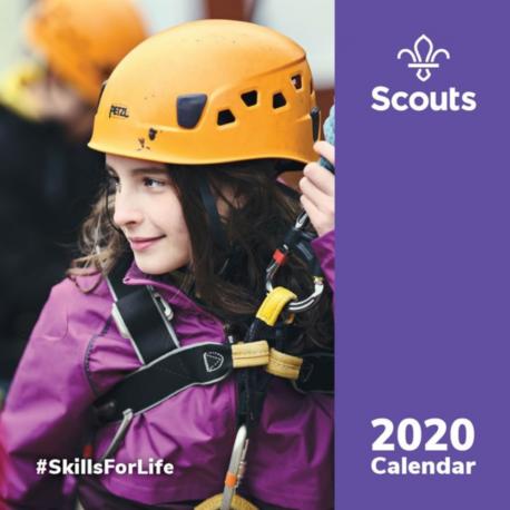 Official Scout Wall Calendar 2020