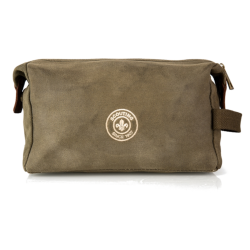 Scouts Heritage Waxed Canvas Wash Bag