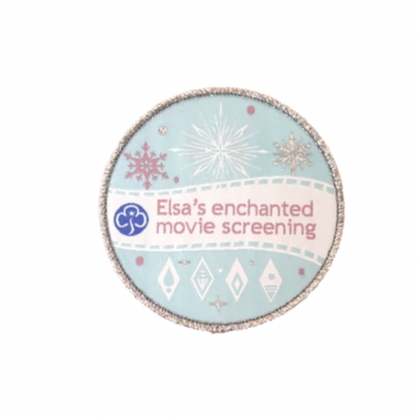 Elsa's enchanted movie screening badge(Frozen 2)