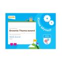Theme Award – Brownies Know Myself certificate
