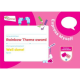 Theme Award – Rainbows Express Myself certificate