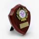 Shield Trophy with Fleur de Lis Scouts Logo 13cm