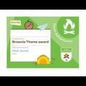 Theme Award – Brownies Have Adventures