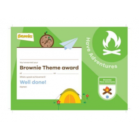 Theme Award – Brownies Have Adventures