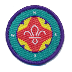 Explorer Scout Belt Award Badge
