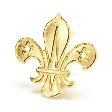 Scouts Arrowhead Metal Beret badge